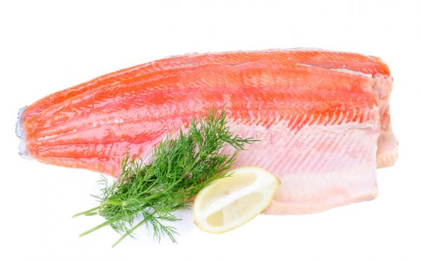 Trout fillets fresh or frozen